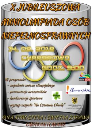 X Jubileuszowa Miniolimpiada Osób Niepełnosprawnych